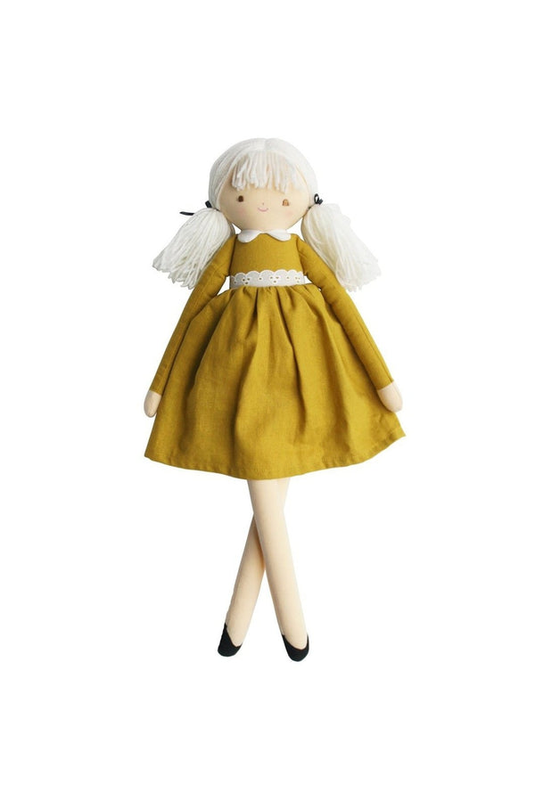 Pippa Doll 52CM - Butterscotch Linen