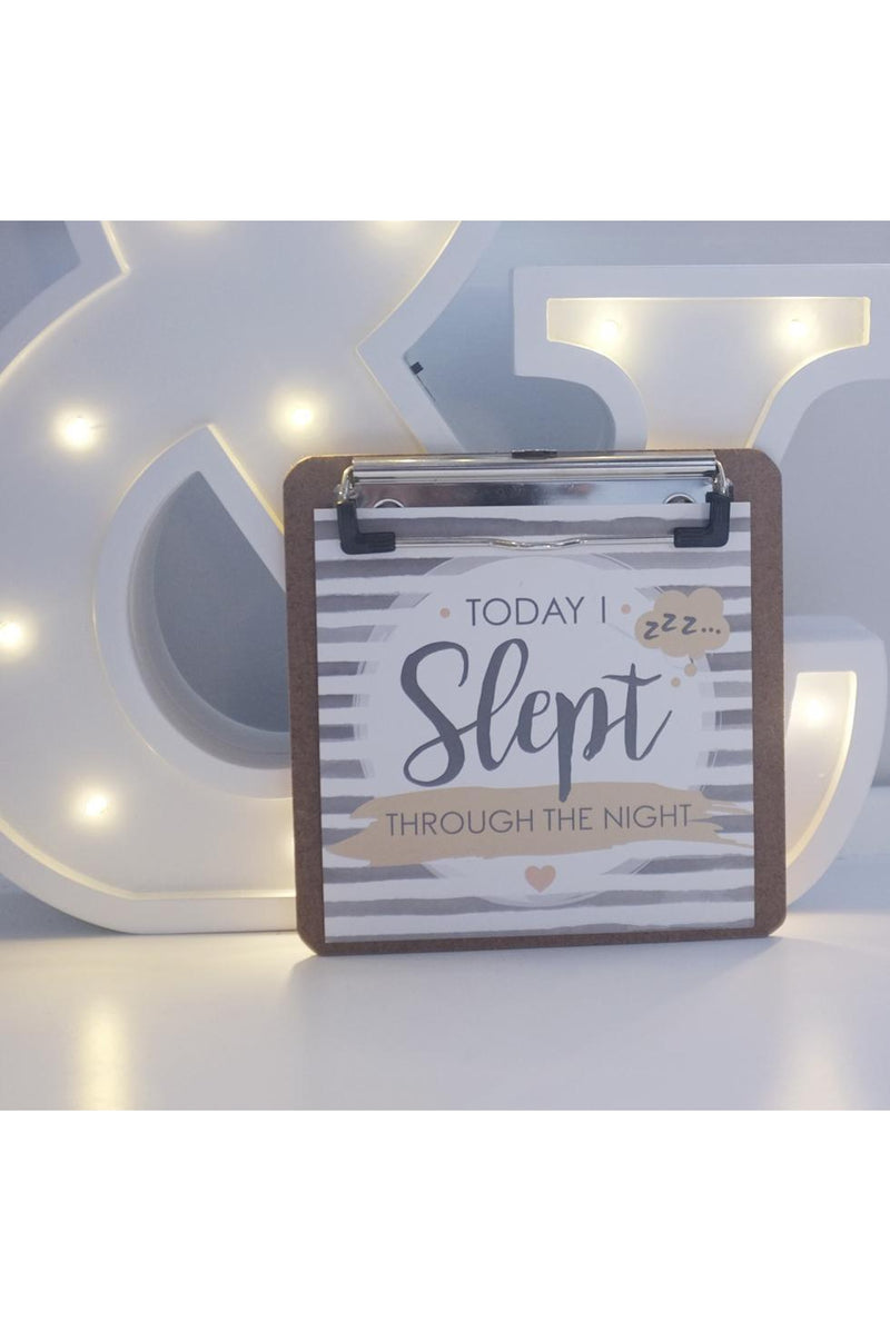 Love Story | Baby Journey Cards + Clipboard