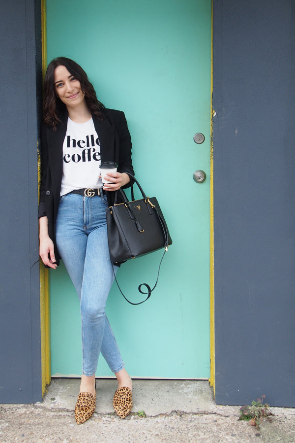 Hello Coffee T-Shirt - XS Only