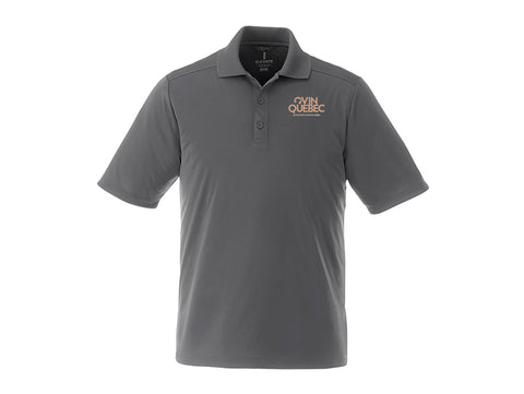 Polo Dade pour homme charcoal Ovin Québec