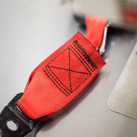 Seat Belt Webbing Replacement: Any Color! Frayed - Torn