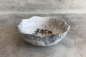 Small Flower Bowl - Marble