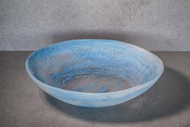 Large Salad Bowl - Dusty Blue