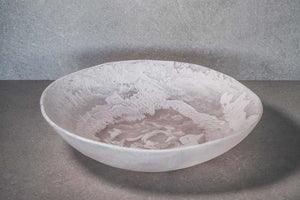 Large Salad Bowl - White