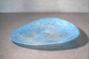 Organic Fruit Bowl - Dusty Blue
