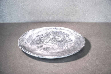Large Plate - Marble