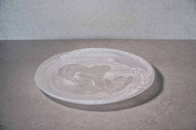 Large Plate - White