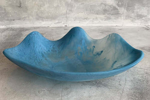 Shell Dish - Blue