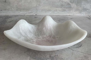 Shell Dish - White