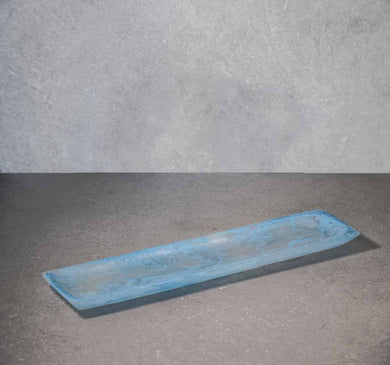 Oblong Tray - Dusty Blue