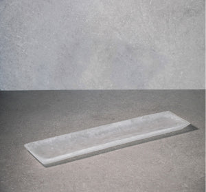 Oblong Tray - White