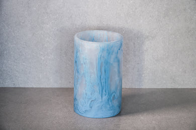 Round Vase - Dusty Blue