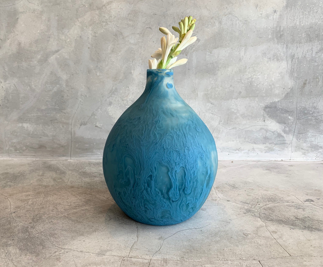 Bottle Vase - Dusty Blue