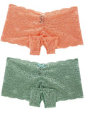 Crotchless Lace Boyshort - 1pc