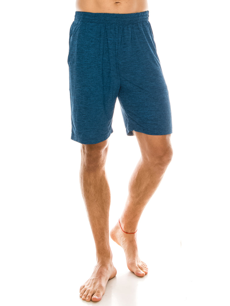 Mens Lounge Shorts Pajama Shorts Sleep Pants Cool Comfy Shorts with Pockets Small to Big and Tall