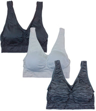 Load image into Gallery viewer, Plus Size Seamless Sports Bras(3 Pack)