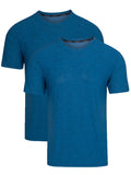 Cooling Shirts for Men Sleep Shirt Mens Undershirts Crew Neck T Shirts Small to Big and Tall