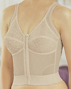 Gelmart Longline Straight and Tall Posture Bra (Nude)