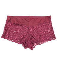 Load image into Gallery viewer, Plus Size Lace Boyshort Panties(6 Pack)