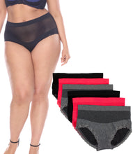 Load image into Gallery viewer, Fishnet Seamless Briefs(6 Pack)