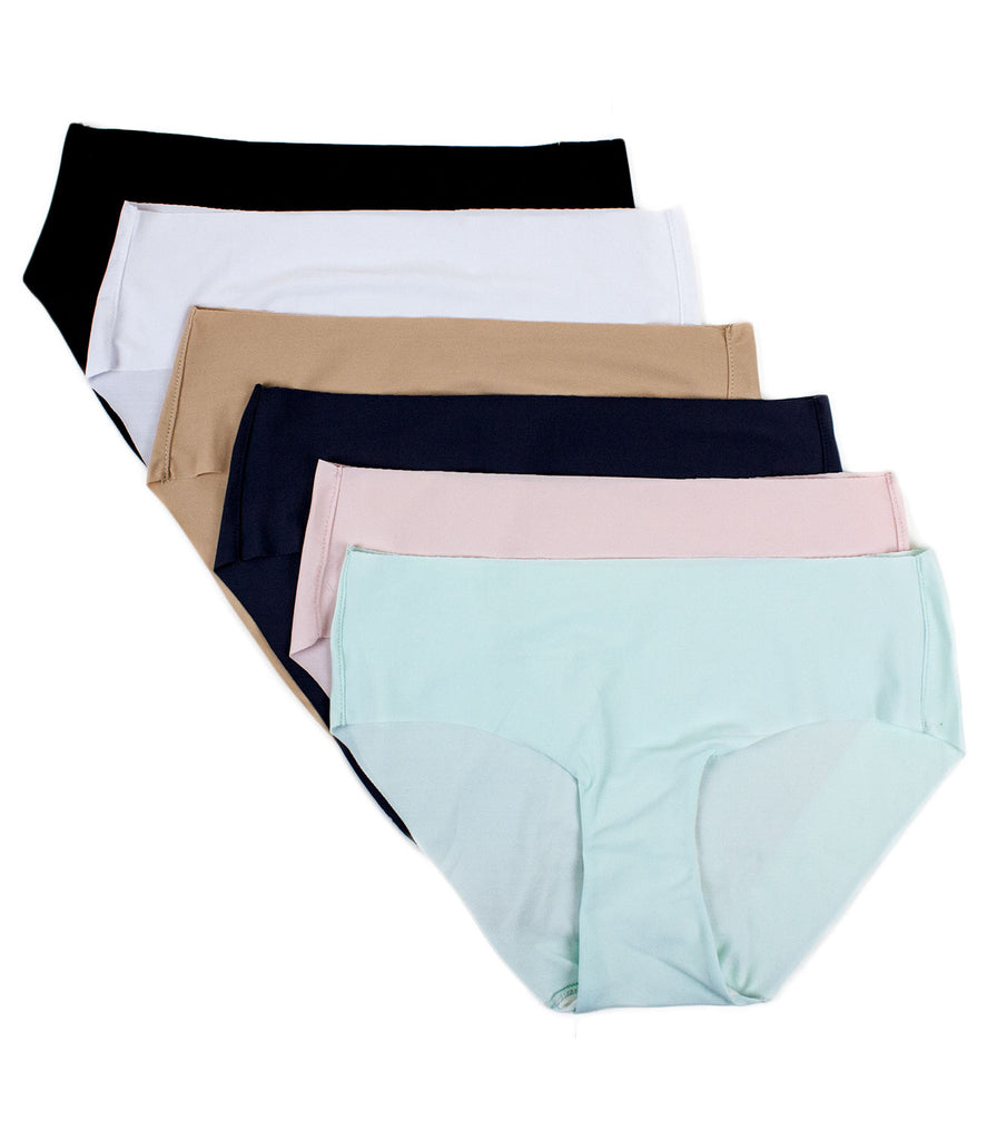 Performance Hipster Panties (6 Pack)