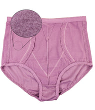 Load image into Gallery viewer, Hidden 2 Sides Pocket Fleece Lined Brief Girdle Panties (6 Pack)