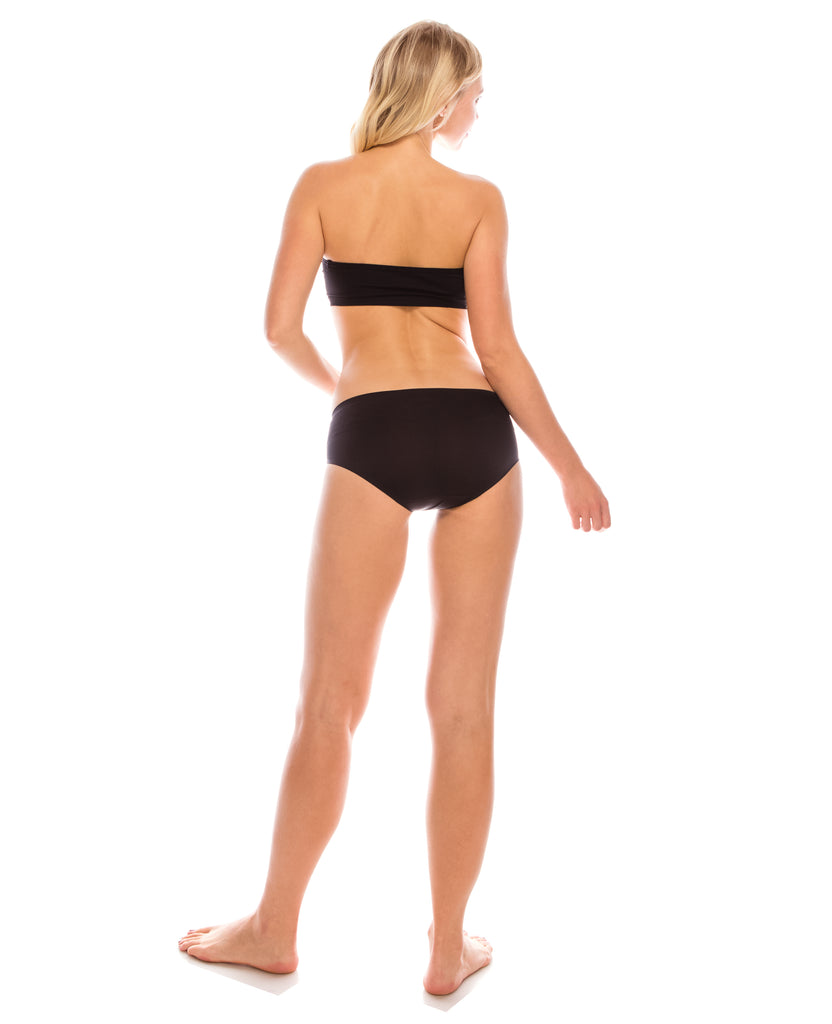 Womens Underwear Seamless No Show Butter Soft Bikini (4 Pack)