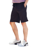 Mens Shorts Invisible Zipper Pockets(Black)-(1 pc)
