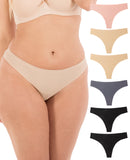 Seamless Thong (6 Pack)