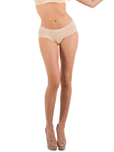 Barbra Lingerie Seamless No-Show Womens Bikini Small to Plus Size 6 Panties