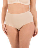 Seamless No-Show High-Waist Brief - 1pc
