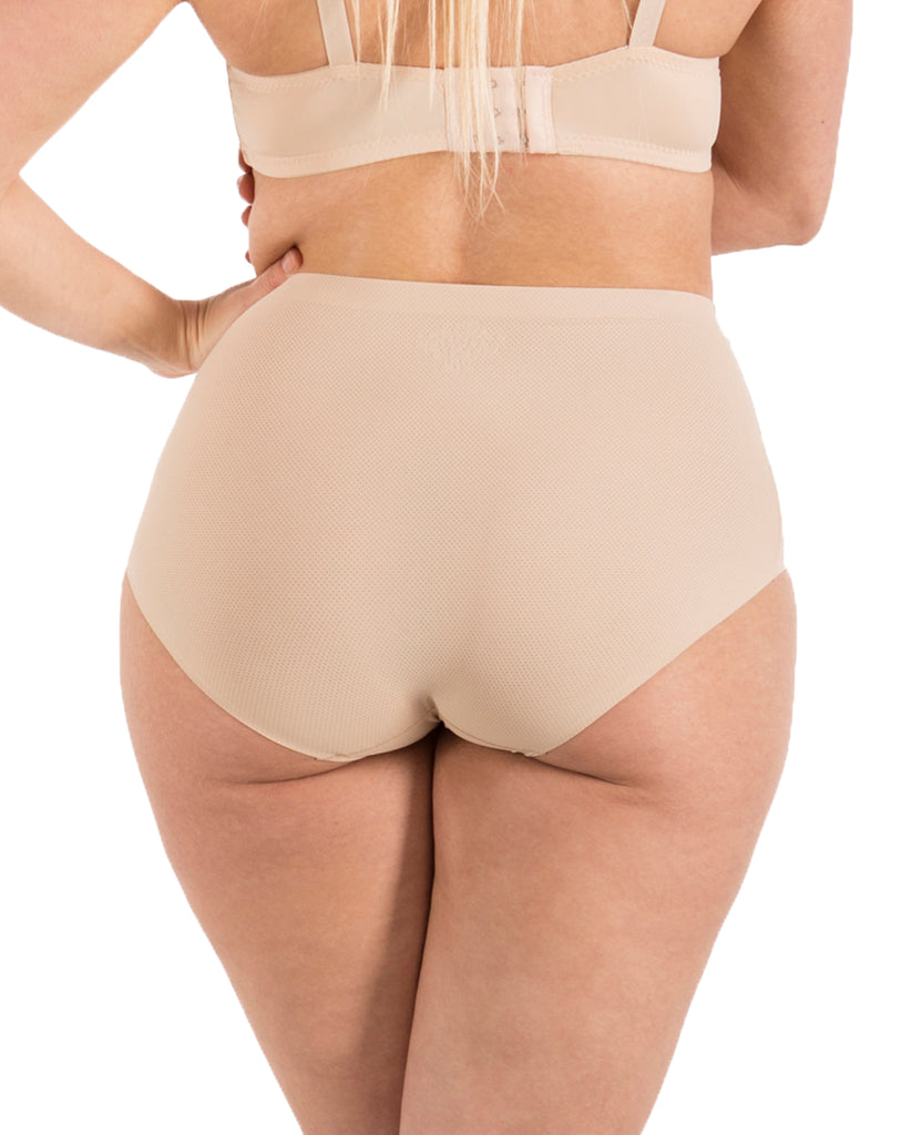 Seamless No-Show High-Waist Brief (6 Pack)