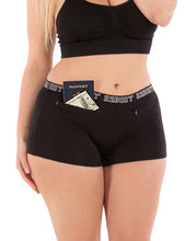 Load image into Gallery viewer, Pocket Stash Cotton Boyshort Panties - (2 Pack)