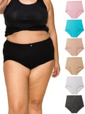 Light Control Comfortable Brief Girdle Panties 6 Pack