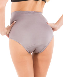 High Waist Full Coverage Brief Tummy Control Girdle Panties (6 Pack)