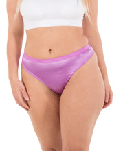 Load image into Gallery viewer, Sexy Satin Thong Panties S to Plus Size Thongs (6 Pack)