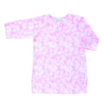 Girls Classic Tunic In Pink Palm