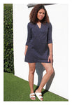 Womens Classic Tunic In Polka Dot
