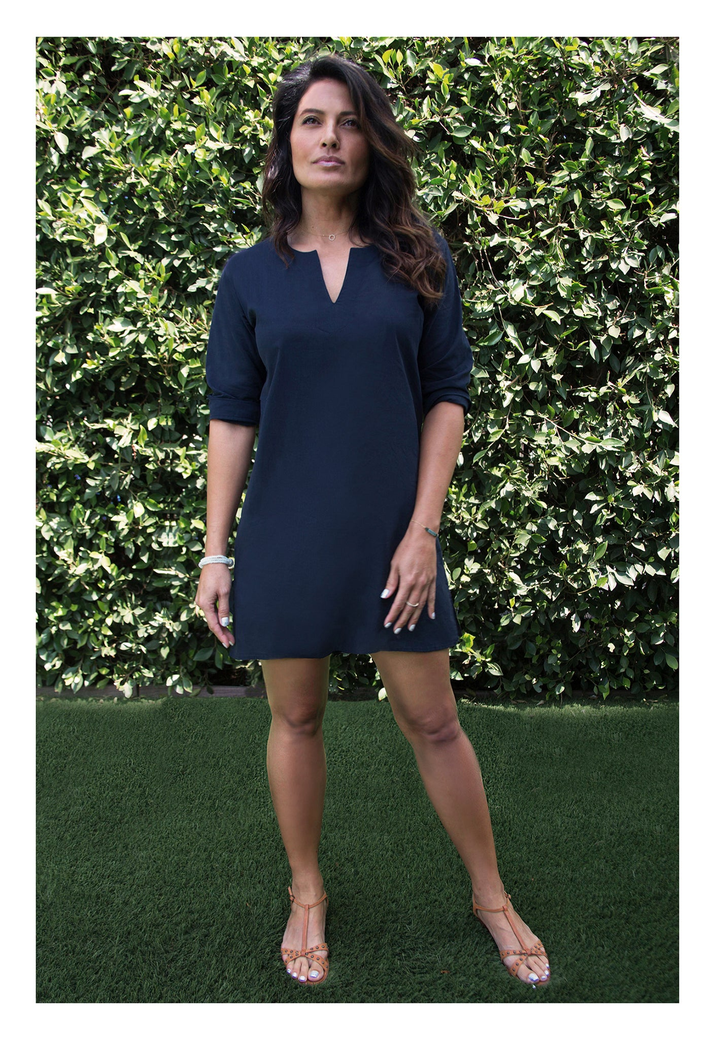 Womens Classic Tunic In Navy