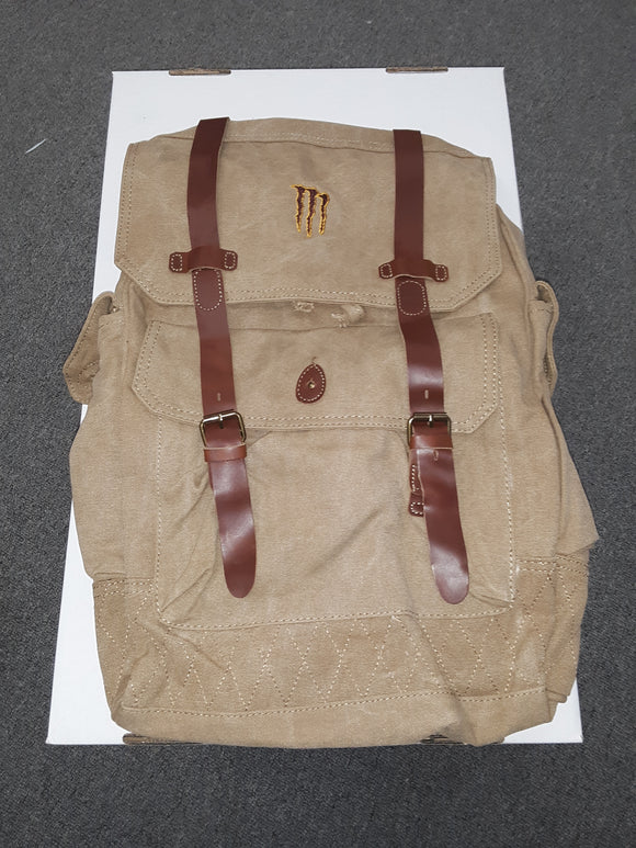 New Brown Monster Java Backpack