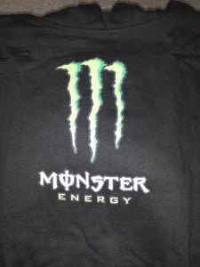 Men's New Black Monster GS Logo Pullover