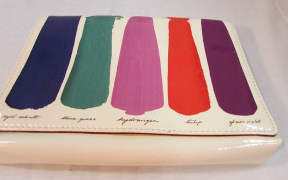 Kate Spade Paint Brushstroke Paintbrush Clutch