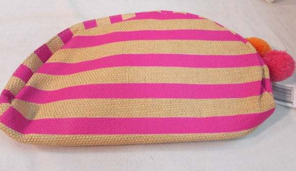 Saxs Fifth Avenue Dior Wood Pulp Hot Pink Cosmetic Bag