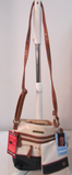 Stone Mountain Crossbody Leather Purse with Wristlet