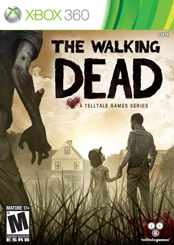 Xbox 360 The Walking Dead A Telltale Game Series