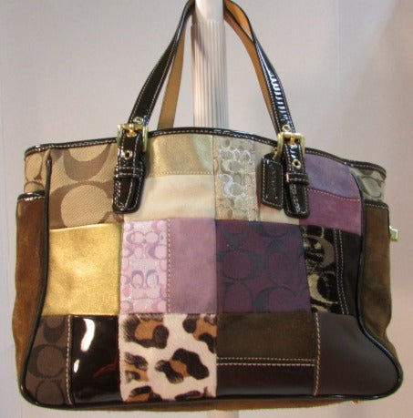 Coach Limited Edition Patchwork Multi Tote