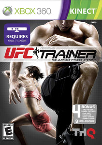 Xbox 360 Kinect UFC Personal Trainer The Ultimate Fitness System