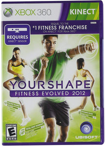 Xbox 360 Kinect Your Shape Fitness Evolved 2012