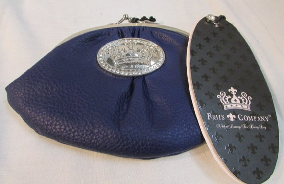 Friis Company Purple Kiss Clasp Bell Wallet - NWT