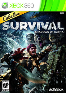 Xbox 360 Cabela's Survival Shadows Of Katmai